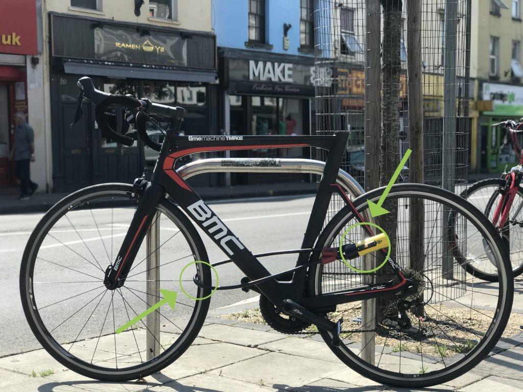 Best way to lock a bike