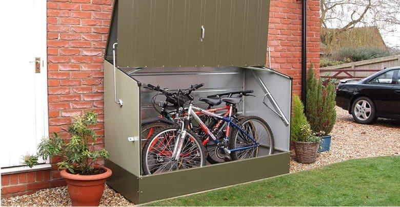 Bosmere Trimetals A300 Bicycle Storage Unit Bike Shed