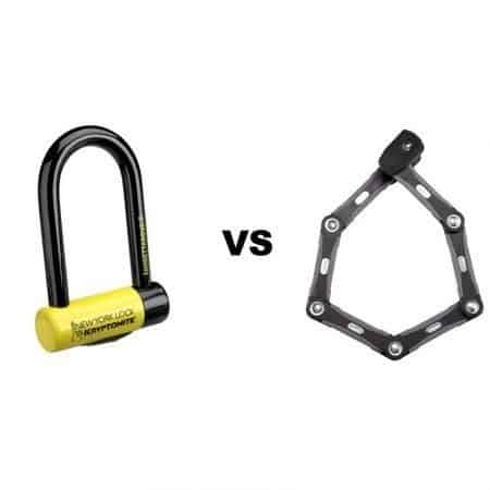 D lock vs Folding Bike Lock