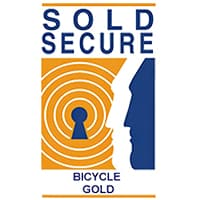 Sold Secure Gold Rating Marking Bicycle Rating