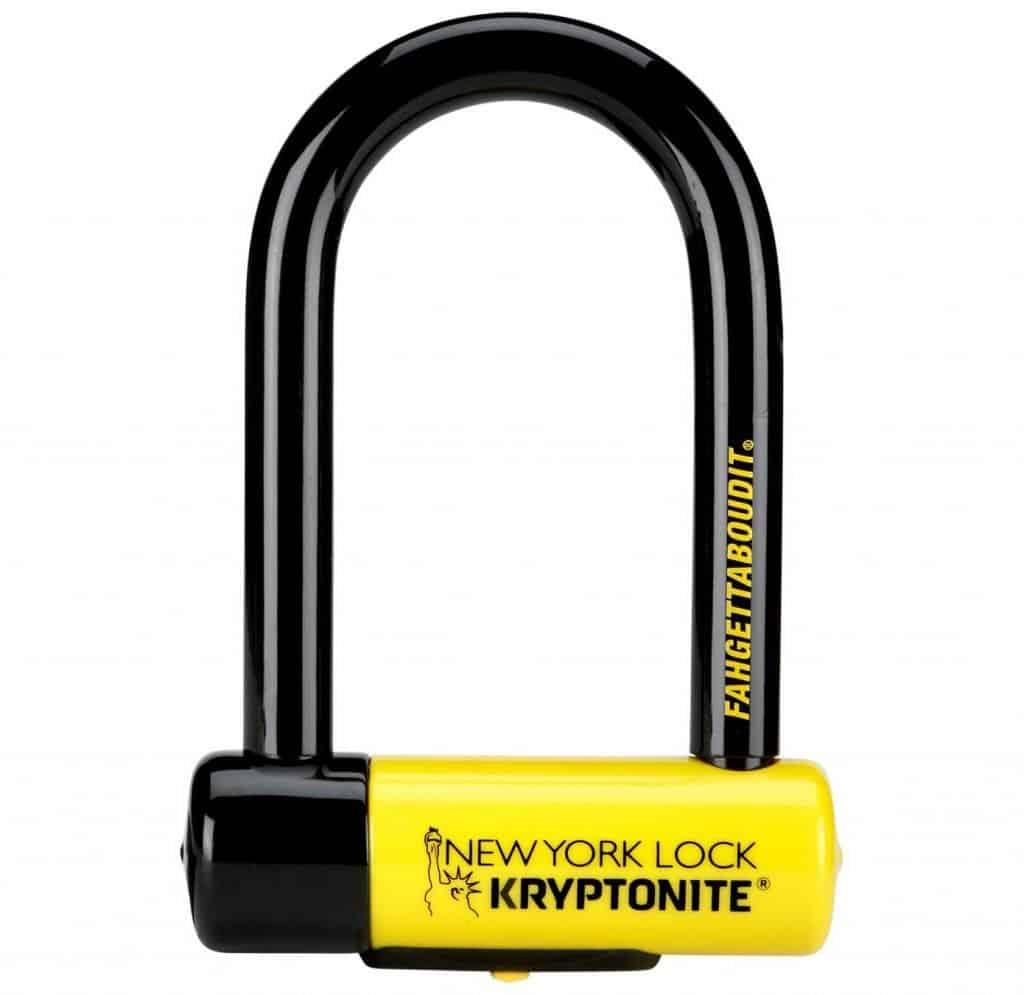 Kryptonite New York Fahgettadboudit Mini Bike D Lock