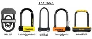Best Bike D Lock - Top D Locks Reviewed
