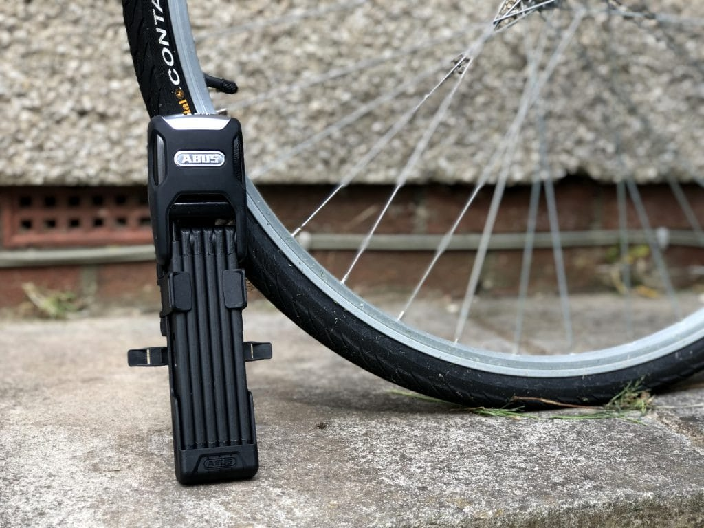 Abus Bordo Alarm 6000A Folding Bike Lock