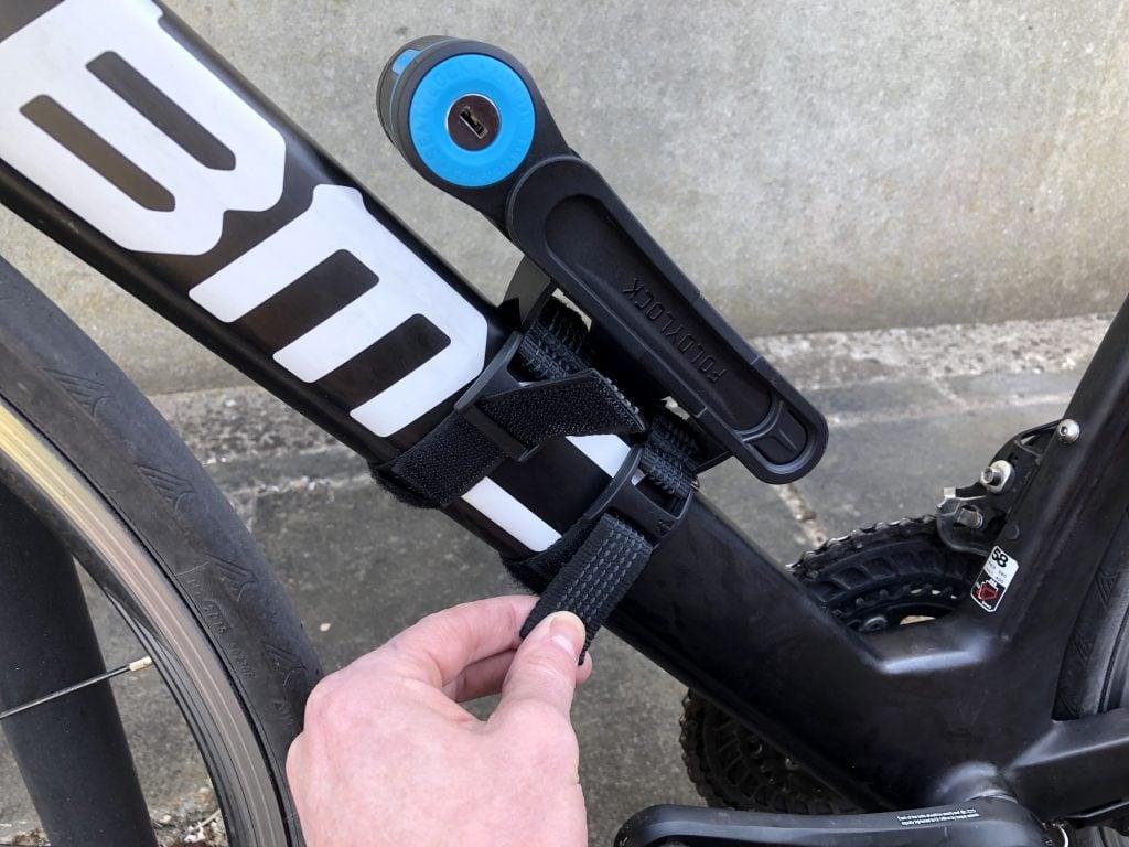 Foldylock Clipster Folding Bike LockWearable Compact Bike eBike Scooter Lock