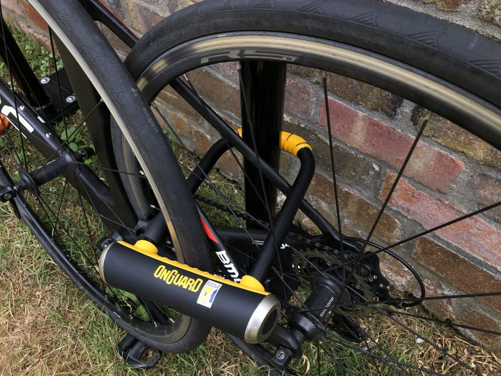 Best way to lock your bike with the OnGuard Brute
