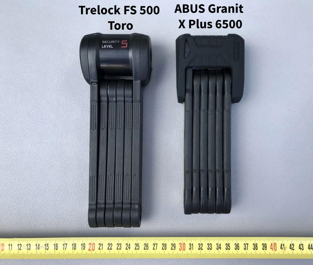 Trelock FS 500 Toro vs ABUS Bordo Granit X Plus 6500 review
