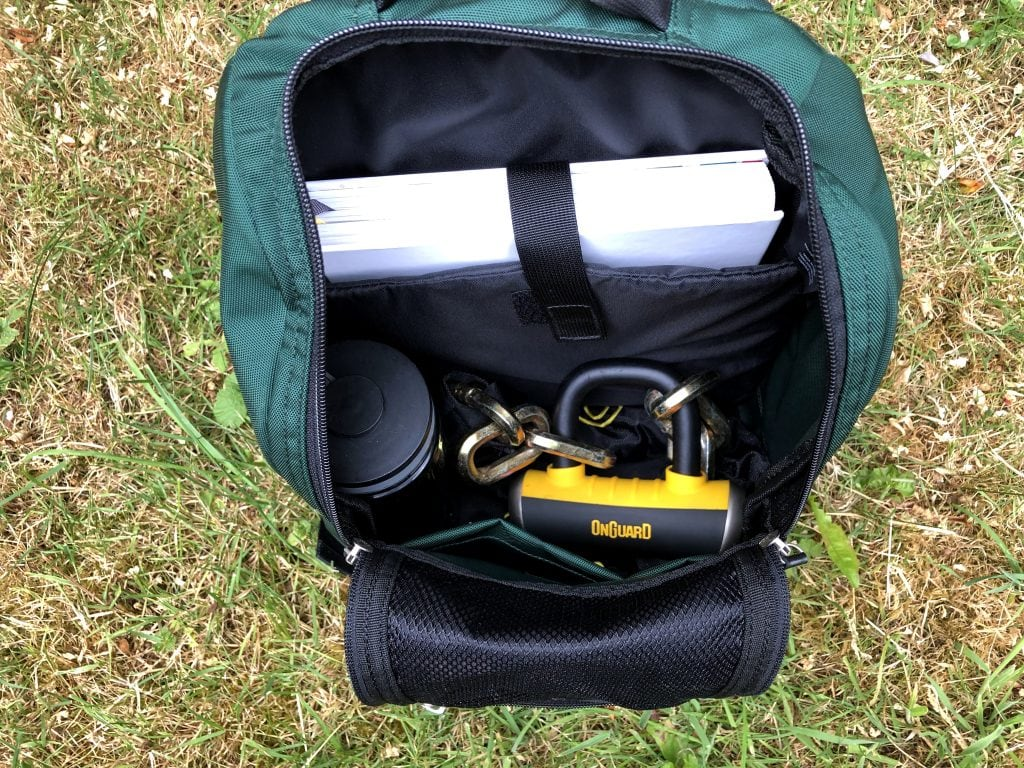 OnGuard Mastiff 8019 in backpack