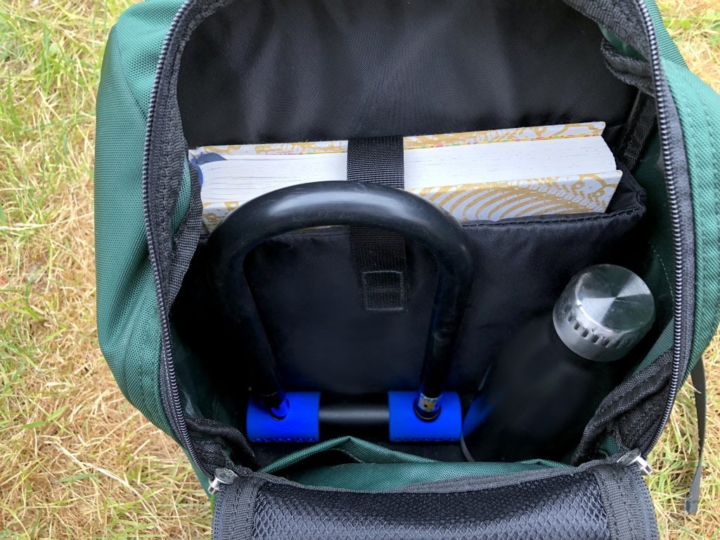 Oxford Alarm Max Duo in backpack