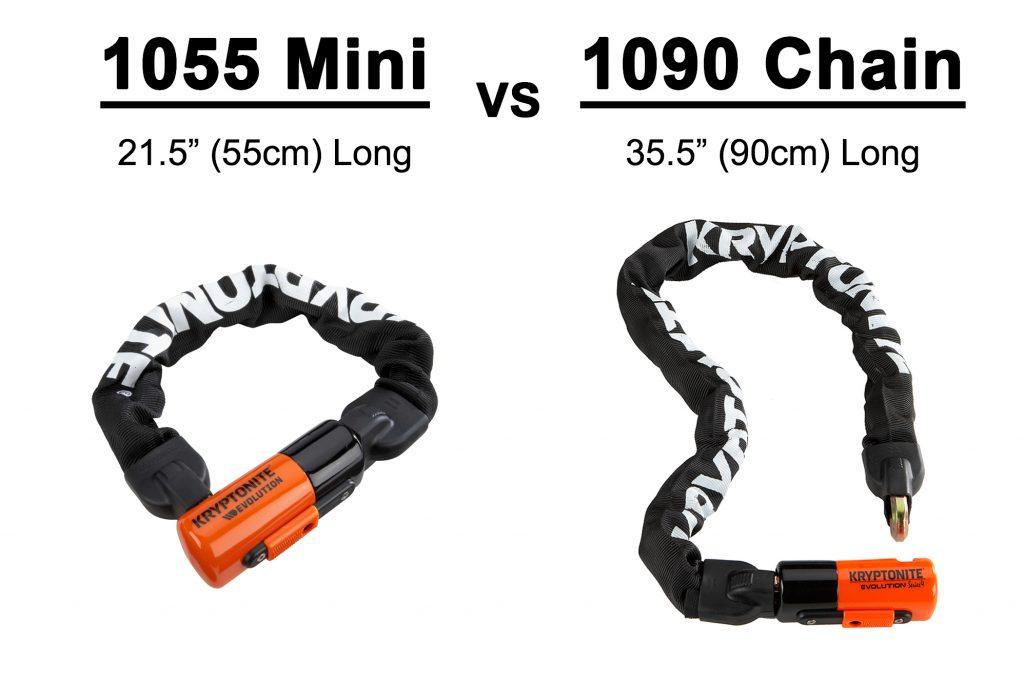 1055 Mini vs 1090 chain