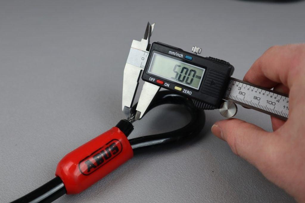 ABUS Cobra Cable Cable Diameter