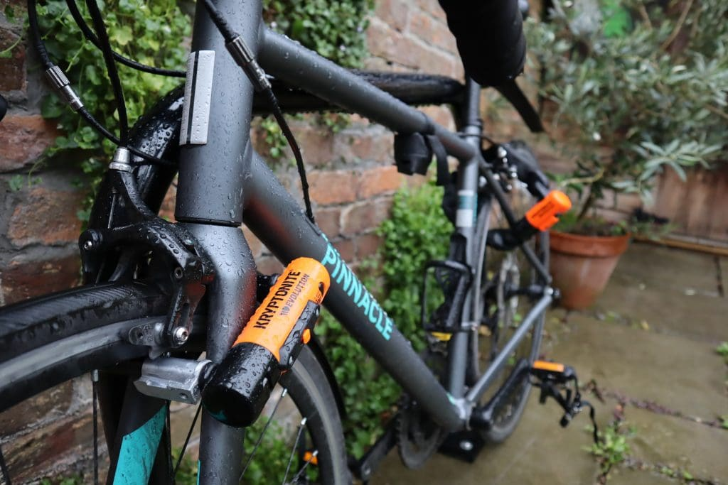 How to lock your bike with Evolution Series 4 1055 Mini