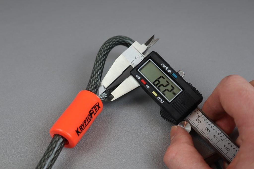 Kryptonite Kryptoflex Cable 710 Inner Cable Diameter