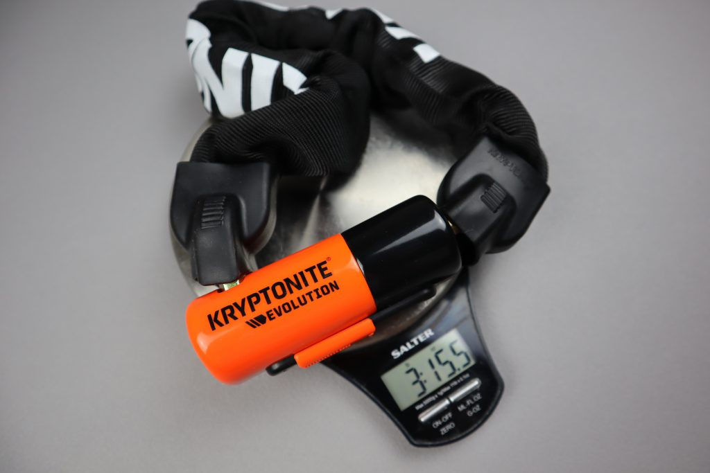 Kryptonite 1055 Mini Best portable chain lock