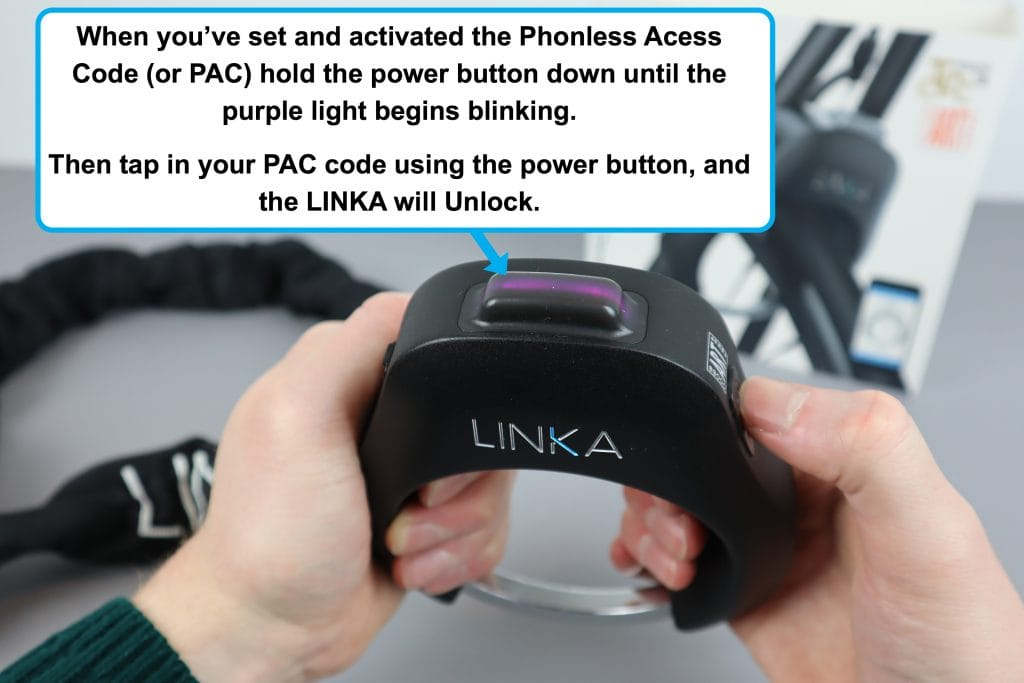 How to unlock the Linka Smart Lock without your phone
