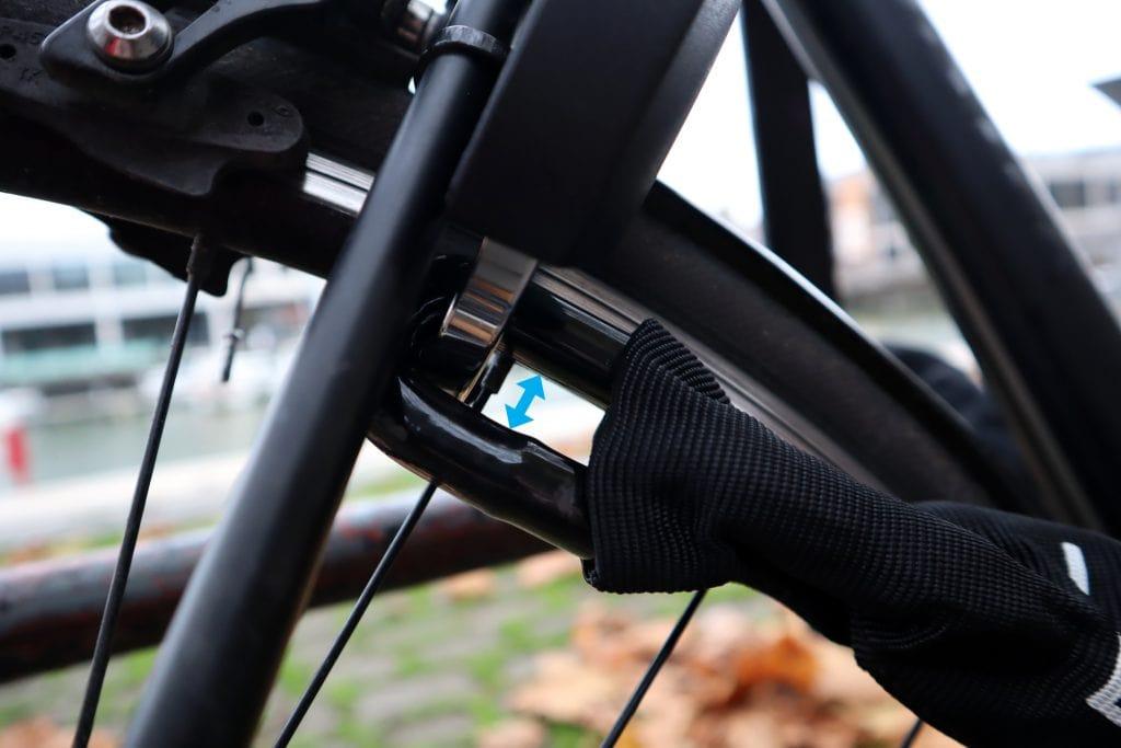 Linka Smart bike lock & heavy duty chain