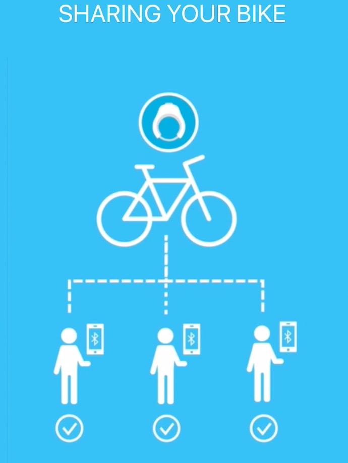 Linka Smart Lock Sharing Feature