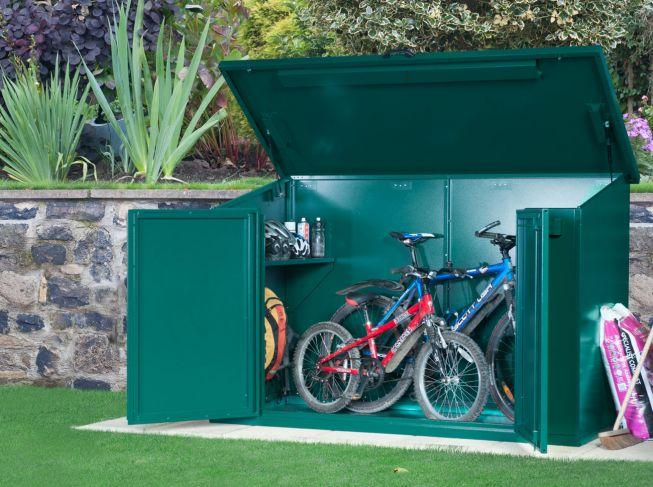 The Best Bike Shed Asgard Access 4 bike storage