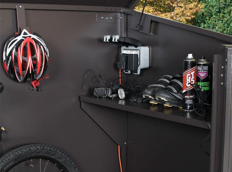 Asguard E Bike Metal Bike Shed