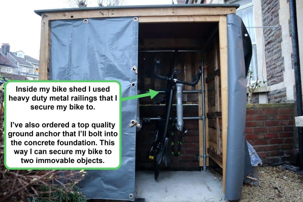 Best DIY Bike Shed