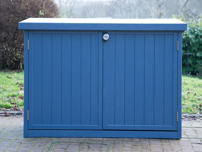 Pedal base 3 wooden bike shed