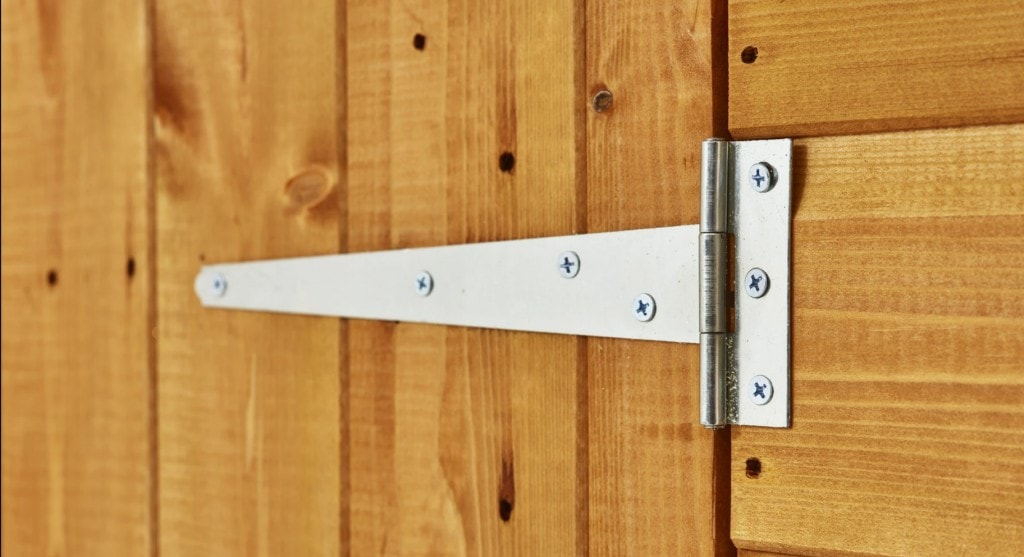 Power Bike Shed Hinges