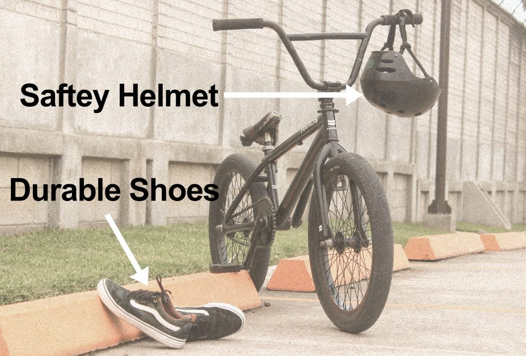 What accessories to get for BMX