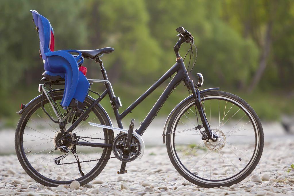Comfort bike with child seat