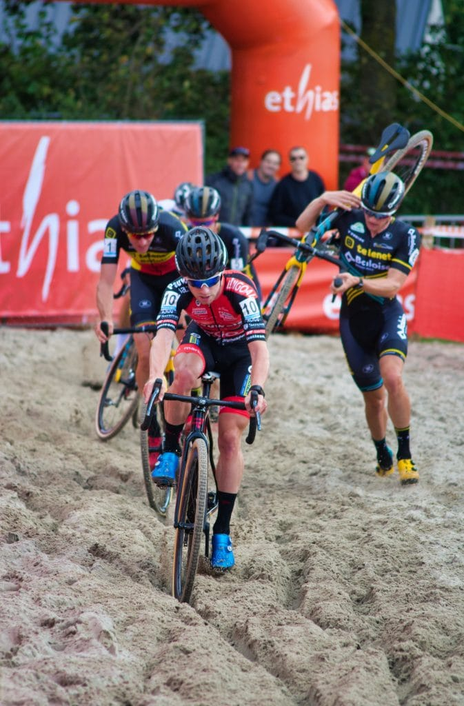 Cyclocross competition - what is a hybrid bike?