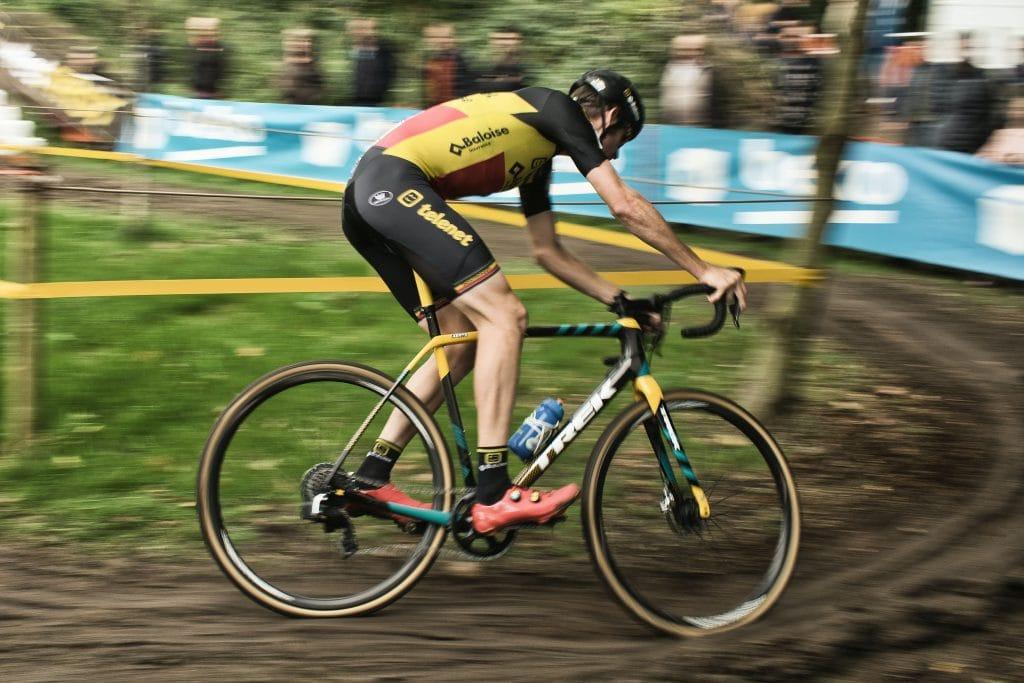 Cyclocross bike rider