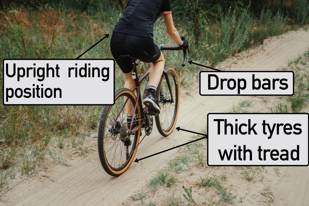 features of a gravel bike