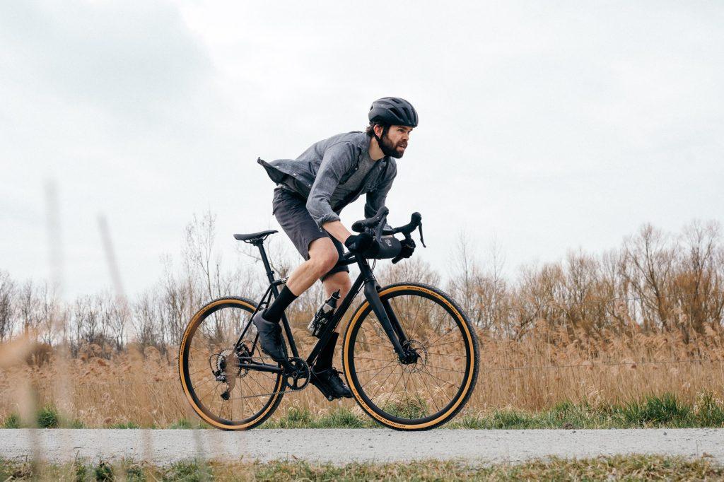 What is a gravel bike? Gravel bike on fire trail