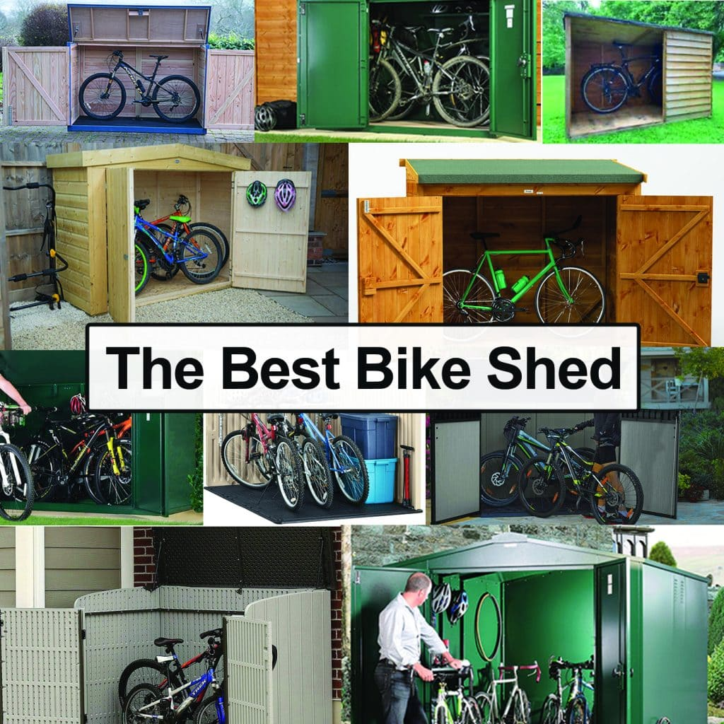 The Best Outdoor Bike Storage Shed