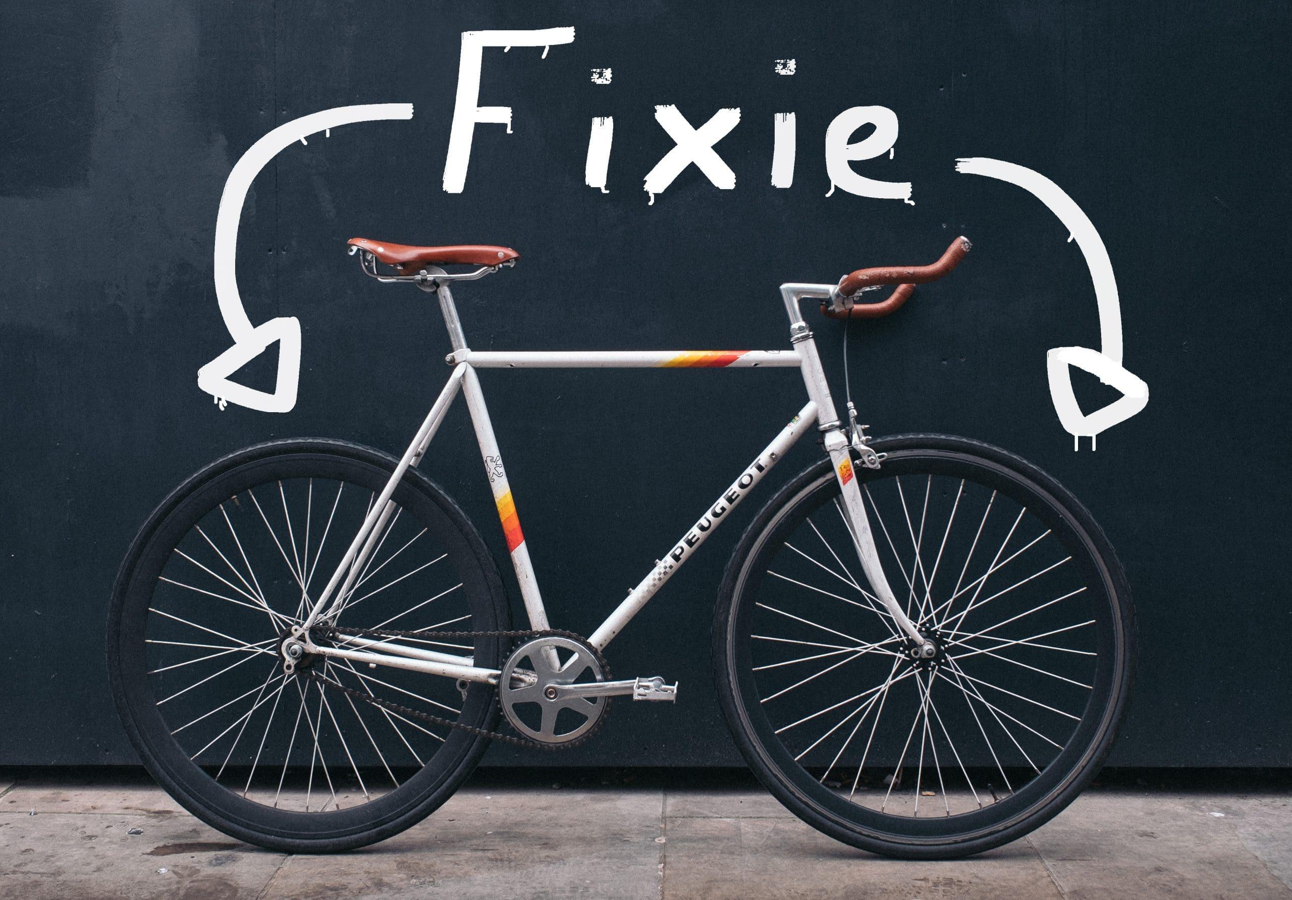 What is a fixie bike?