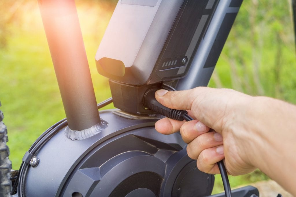 how to charge e bike battery