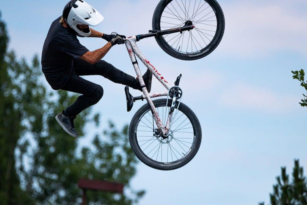Jump bike hardtail