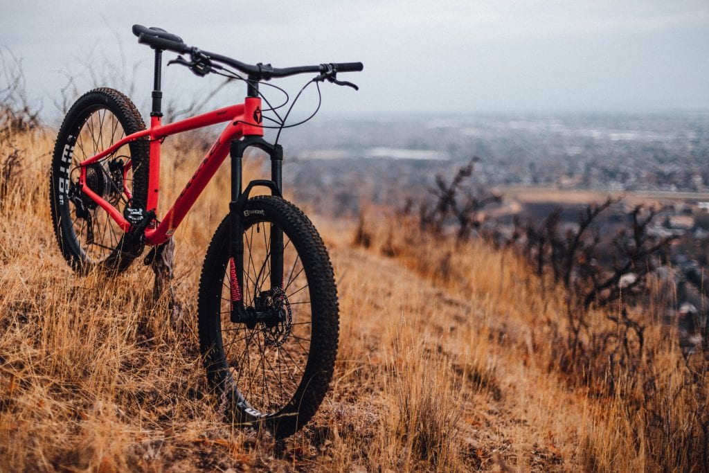 What is a hardtail bike?