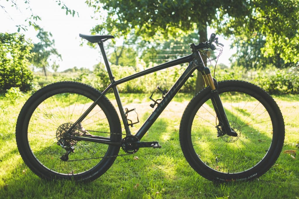 What is a hardtail mountain bike?