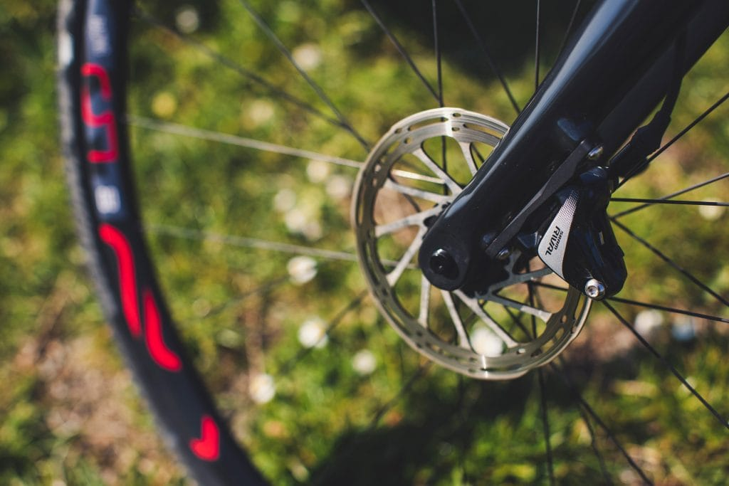 components of a cyclocross bike
