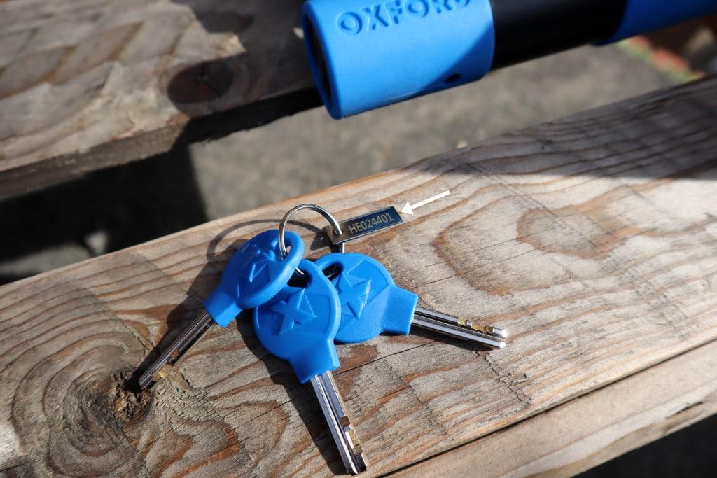 Oxford Alarm-D Pro Keys with key code fob