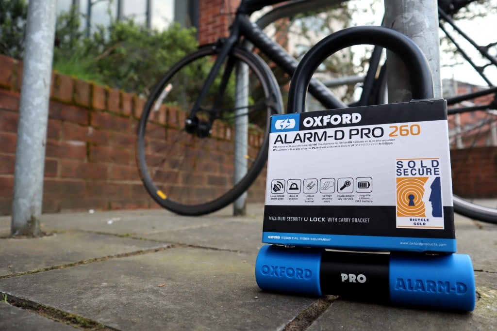 Oxford Alarm D pro uncuttable bike lock