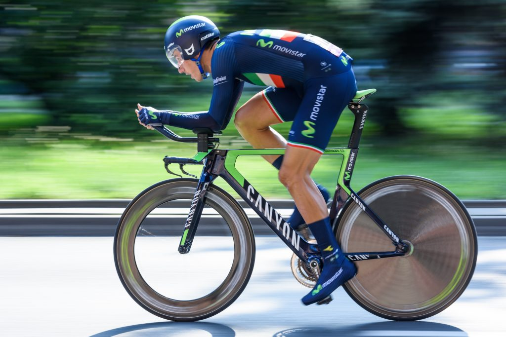 Time Trial Bike ridden in professional race