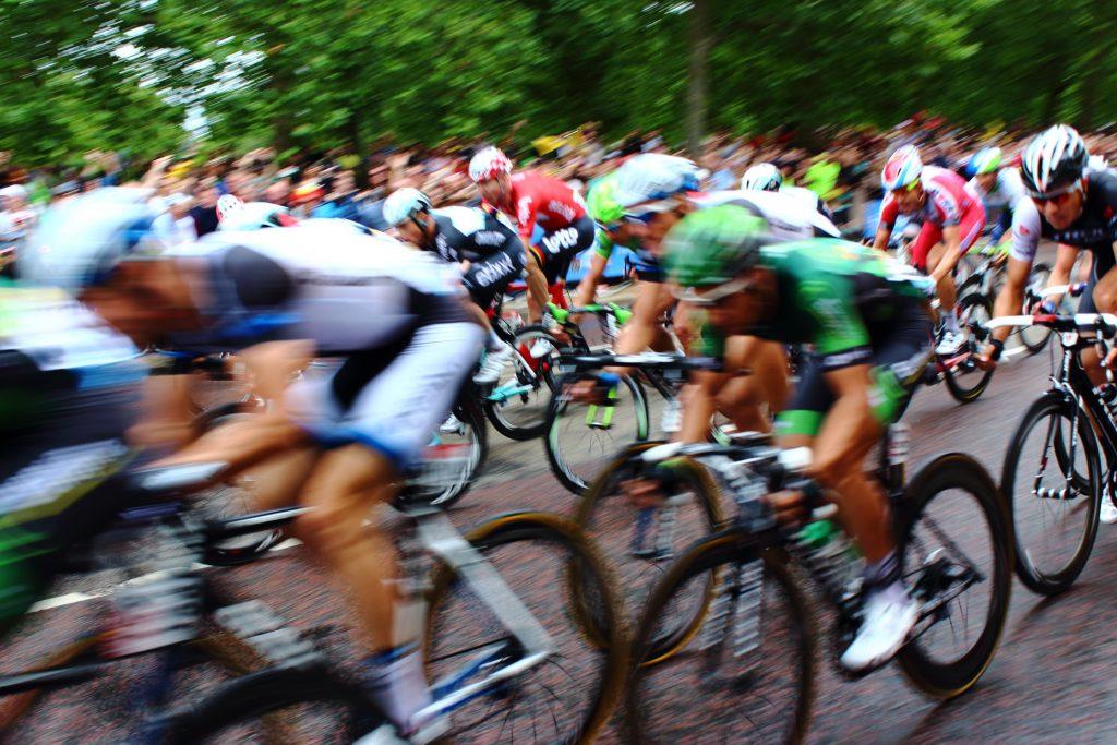 professional road bike race