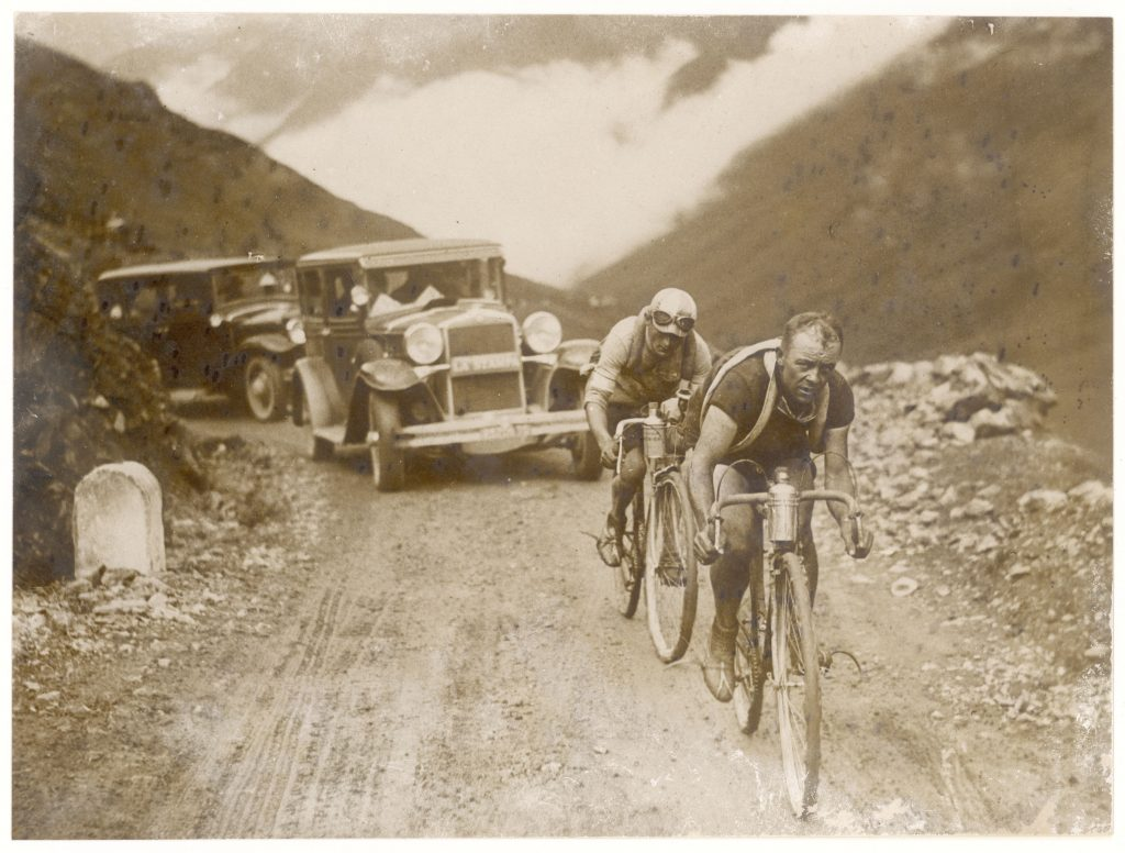 Historic photo of the Tour de France from the, 1930s