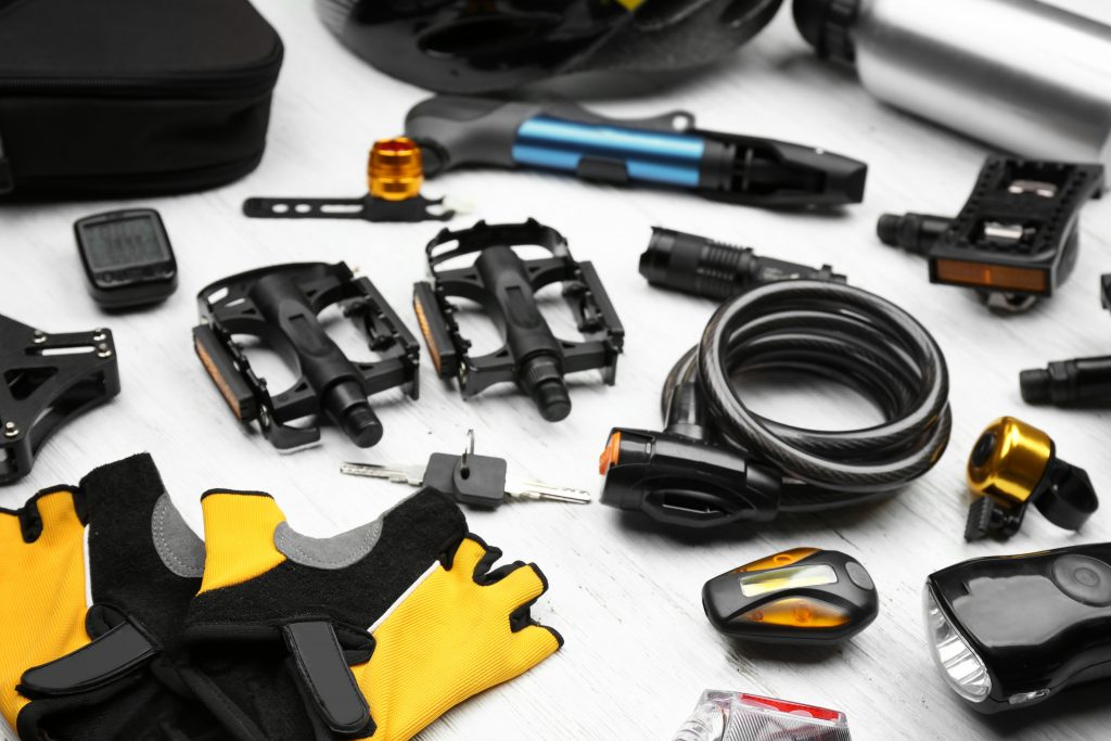 What accessories to use when riding a road bike