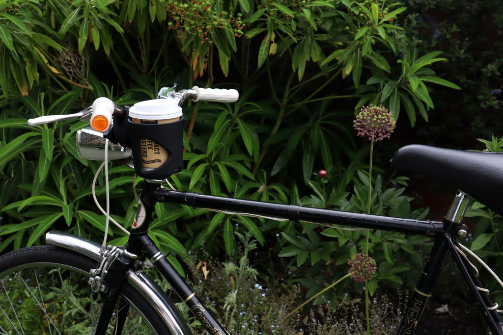 stroller adjustable bike cup holder