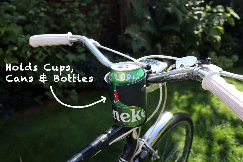 Bike Handlebar Beer Holder