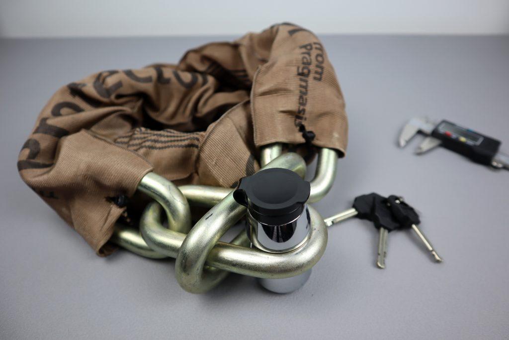 Pragmasis Protector 16mm Uncuttable Bike Lock Chain
