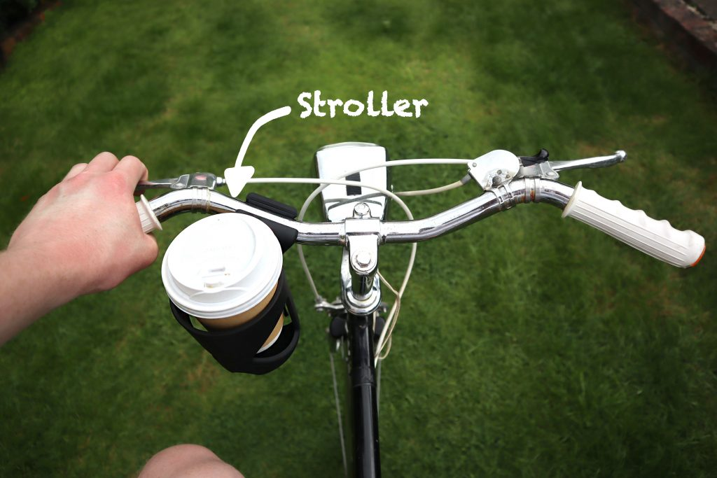 stroller cup holder for bike coffee