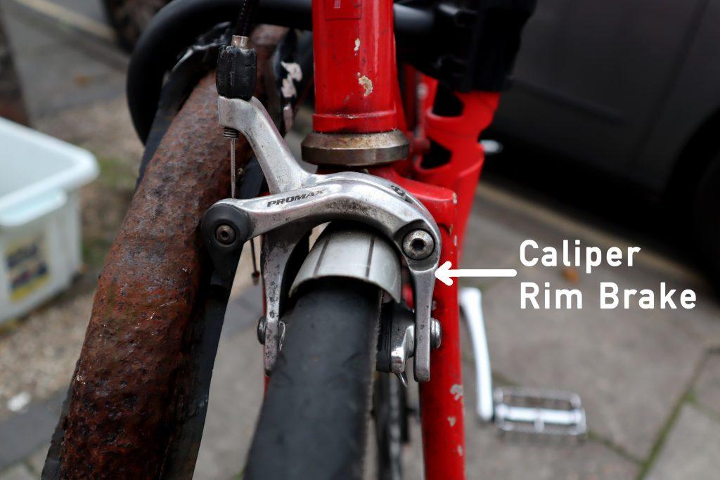 Bicycle caliper rim brakes explained
