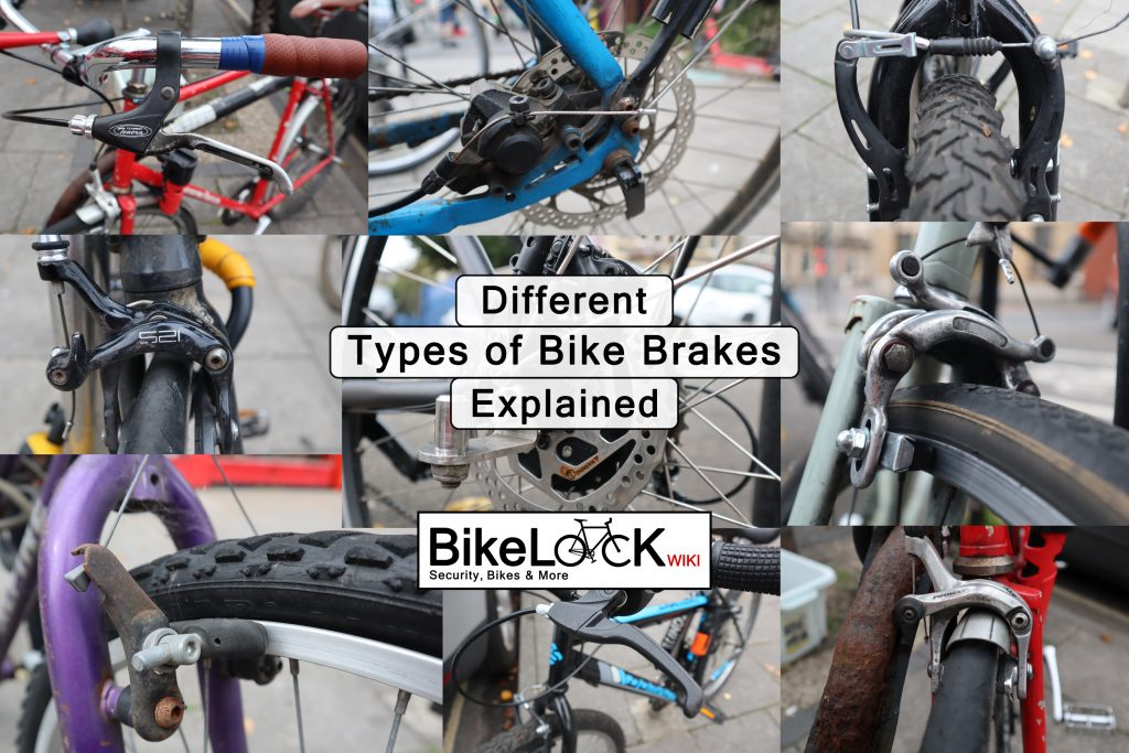 different types of bike brakes